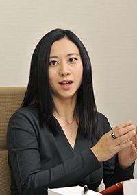 日本学術振興会特別研究員の三浦瑠麗さん