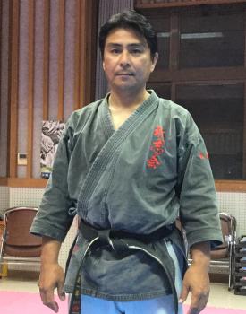 上地流・琉球古武道「琉志会」の長嶺朝一郎さん